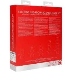 VAC-U-LOCK SMOOTH SILICONE DONG